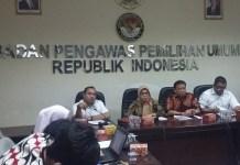 Komisioner Bawaslu, Ratna Dewi Pettalolo Saat Konpers di Kantor Bawaslu/Foto Ucok/Nusantaranews