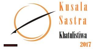 Kusala Sastra Khatulistiwa 2017. Ilustrasi NusantaraNews.co