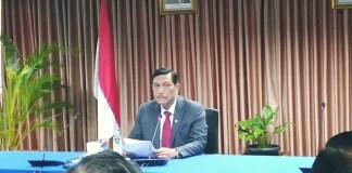 Menko Maritim Luhut Binsar Pandjaitan/Foto Andika/Nusantaranews