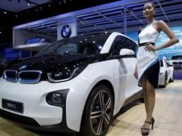 Mobil Listrik BMW i3. Foto: Dok. Reuters