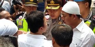 Polisi Amankan Demo di Dubes Myanmar/Foto Ucok/Nusantaranews