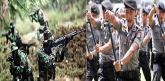 TNI adalah kombatan dan Polri (Polisi) bukan kombatan. (Foto: Ilustrasi/NusantaraNews)