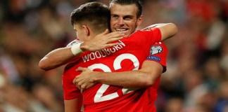 Gareth Bale dan en Woodburn. (Foto: Reuters)