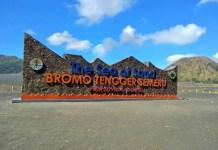 Tugu Besar di Laut Pasir Bromo. Foto: Dok. Sigit Pramono/ Masyarakat Fotografi Indonesia