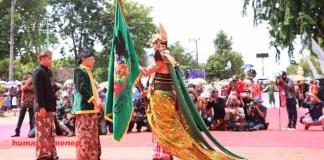 Prosesi Arya Wiraraja Sumenep. Foto: Dok. Humas Pemkab Sumenep