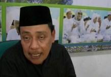 Ketua Tanfidziyah PWNU Jatim, KH Hasan Mutawakkil Alallah (Foto Tri Wahyudi)