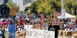 Ilustrasi Protes NAFTA