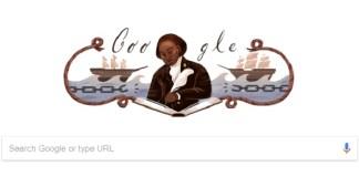 Penulis pertama Afrika Olaudah Equiano yang dikenal sebagai pejuang anti Perbudakan. Foto Crop: Google Doodle/ NNCart/ NusantaraNews