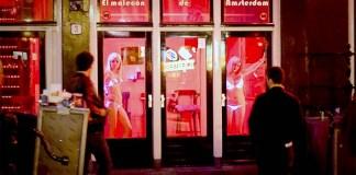 Rumah Bordil di Amsterdam/Foto: tips-and-travel.co