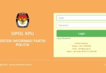Publik sudah dapat mengakses dengan leluasa Sistem Informasi Partai Politik (SIPOL) yang dikelola Komisi Pemilihan Umum (KPU). (Foto: Istimewa/NusantaraNews)
