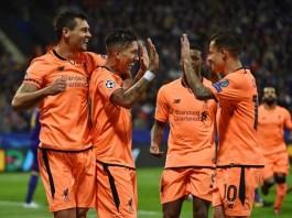 Liverpool melumat klub asal Slovenia di Liga Champions grup E pada Rabu (18/10) malam WIB. (Foto: by John Powell/Liverpool FC via Getty Images)