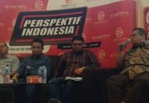 Umar Husin saat Diskusi Tentang Densus Tipikor polri (Foto: Ucok A/Nusantaranews)