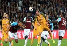 West Ham dikalahkan Brighton & Hove Albion di lanjutan Primer League musim 2017/2018. (Foto: Press Association/PA)