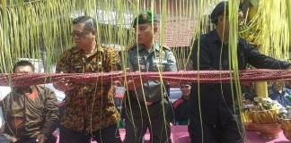 Dalam rangka jamasan atau siraman tombak Kanjeng Kyai Upas, Kabupaten Tulunggagung menggelar wayang kulit. Foto Md Dim 0807/ Rantelino/ NusantaraNews