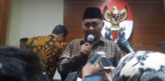 Ketua KPK, Agus Rahardjo segera menerbitkan surat Daftar Pencarian Orang (DPO) terhadap Setya Novanto. Foto: Restu Fadilah/NUSANTARANEWS
