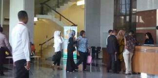Istri Setya Novanto, Deisti Astriani Tagor penuhi panggilan KPK. Foto Restu Fadilah/ NusantaraNews