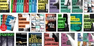 Buku-buku Bestseller Ian Rankin (Ilustrasi). Foto Crop via Google Image/ NusantaraNews