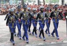 Ratusan Pelajar Ikuti Gelar Senja. Foto Herpani/ NusantaraNews