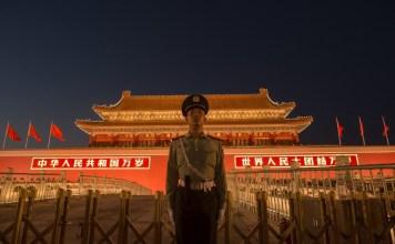 Kota Terlarang di Beijing. Foto: AFP/Nicolas Asfouri