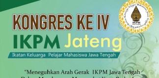 Kongres IV IKPM JATENG (Poster). Ilustras/ NusantaraNews