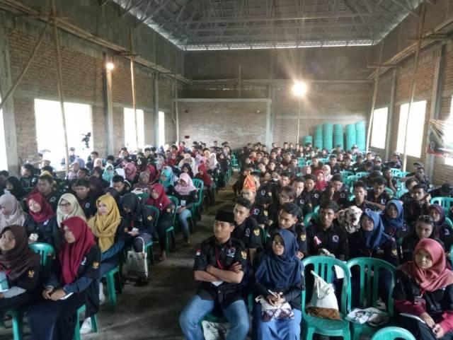 Penutupaan acara kemah pemuda Gema Banteng Indonesia (Satyawira Negara Pratama) pada tanggal 24 - 26 November 2017 di Waduk Sermo, Kulon Progo, DI Yogyakarta.  Foto: Dok. Istimewa