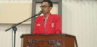 Ketua DPC GMNI Banyuwangi Jawa Timur, Made Bryan Pasek Mahararta (Foto Istimewa/Nusantaranews.co)