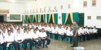 Dandim Jember ajak Kepala Dusun se Kabupaten Jember bersama menjaga keutuhan NKRI. Foto: Sis/Istimewa