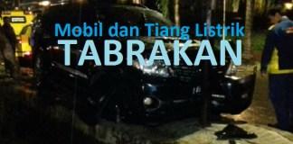Mobil Setnov nabrak Tiang Listrik (Ilustrasi). Dok. NusantaraNews