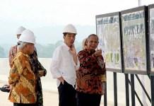 Presiden Jokowi Meninjau Proyek Infrastruktur Baru/Foto: Setkab.go .id