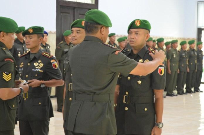 Rotasi Jabatan Kodim Mojokerto (Foto: Penrem/Nusantaranews.co)