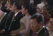 Setya Novanto tertidur. Foto: YouTube