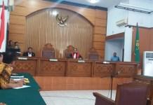 Sidang praperadilan Setnov jilid II (Foto: Restu Fadilah/Nusantaranews.co)