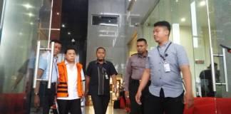 Setya Novanto tampak lesu menghadapi sidang perdana pada Rabu, 13 Desember 2017. Foto: Restu Fadilah/NusantaraNews