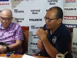 Peneliti dari Indonesia Corruption Watch (ICW), Emerson Yuntho. Foto Ucok Al Ayubbi/ NusantaraNews