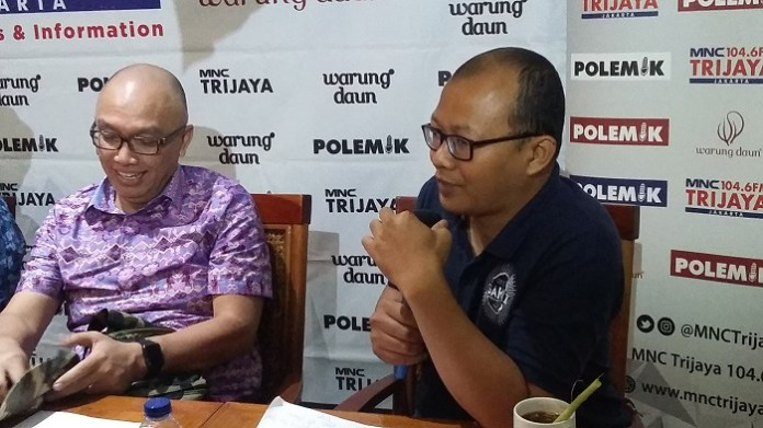 Peneliti dari Indonesia Corruption Watch (ICW), Emerson Yuntho. Foto Ucok Al Ayubbi/ NusantaraNews