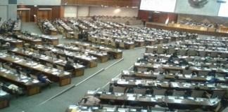 Sidang Paripurna Dewasn Perwakilan Rakyat (DPR). Foto: Ucok Al Ayubbi/Nusantaranews