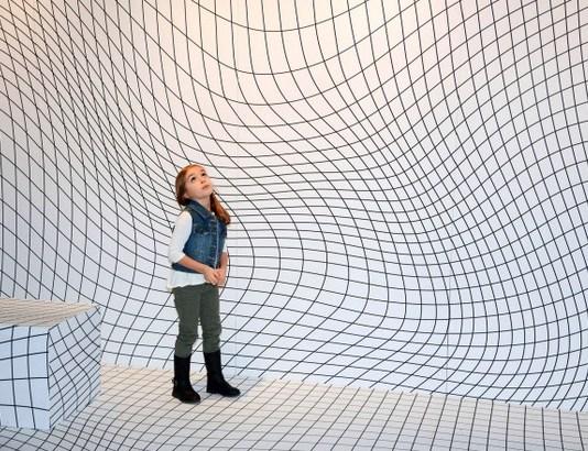 Galeri interaktif (Foto: New York Post)