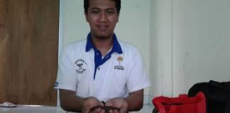 Hamam Nashirudin, pengolah kopi Temanggung. Foto: Ibda/Istimewa