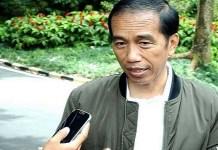 Presiden Jokowi saat beri keterangan pers untuk timnas. Foto Dok. @jokowi