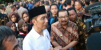 Jokowi Kunjungan Ke Pacitan (Foto Tri Wahyudi)