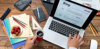 Mendapatkan uang melalui aktivitas blogging (Foto via gyaniworld)