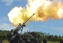 Meriam 122 MM (Foto TNI AD/Nusantaranews.co)
