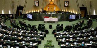 Parlemen Iran serukan negara-negara muslim kurangi hubungan dengan Israel dan AS. Foto: Abedin Taherkenareh/EPA/REX/Shutterstock