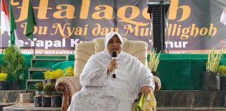 Pengasuh Tiga Pesantren di Jatim, Nyai Makkiyah As'ad Syamsul Arifin (Foto: Tri Wahyudi)