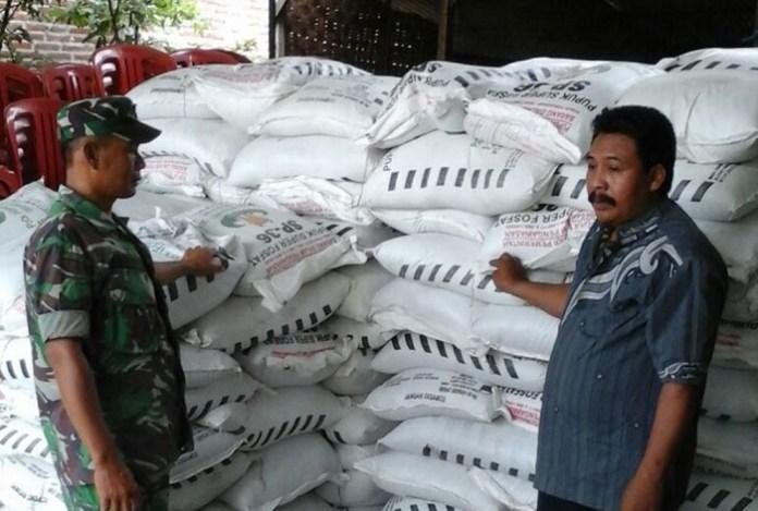 Pengawasan Subsisi Pupuk di Lamongan (Foto Istimewa)