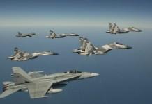 Skadron tempur (Foto ilustrasi)