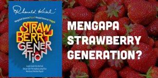 Cover buku Strawberry Generation karangan Rhenanld Kasali. Foto: Istimewa
