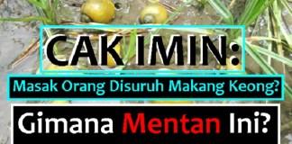 Cak Imin komentari saran Mentan Amran Sulaiman soal Keong. Ilustrasi/ NusantaraNews