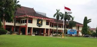 Kantor Bupati Sumenep belum bersertifikat. Foto: Mahdi Alhabib/NusantaraNews