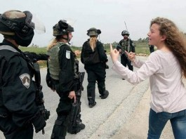 Ahed Tamimi, ikon perlawanan terhadap tentara Israel. Foto: Dok. mobtada.com